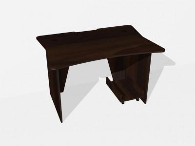 Геймерский игровой стол ZEUS ZET-1 цвет Венге