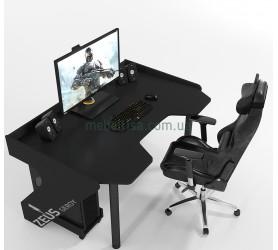 Геймерский игровой стол ZEUS Geroy черный