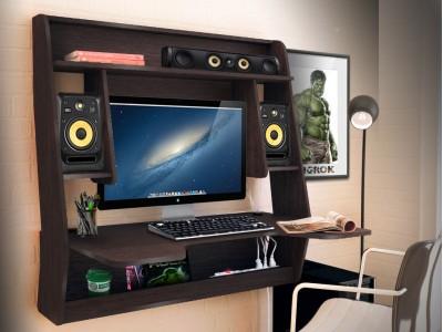 Геймерский навесной стол ZEUS IGROK-MAX венге