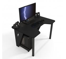Геймерский игровой стол ZEUS IVAR черный