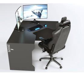 Геймерский игровой стол ZEUS TRON-2 черный