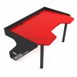 Геймерский игровой стол ZEUS Geroy красный+черный