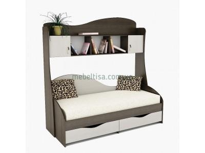 Кровать Идеал + надстройка ПК-2