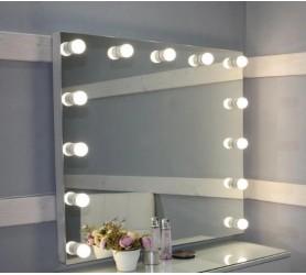 Гримерное зеркало с лампами Гранд