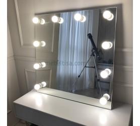 Гримерное зеркало с лампами Аврора