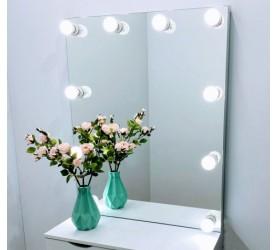 Гримерное зеркало с лампами Лагуна
