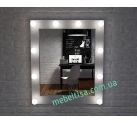 Гримерное зеркало с лампами Милан