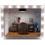 Гримерные зеркала с лампочками Тиса Мебель