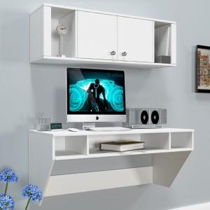 Преимущества навесных пристенных столов для компьютера